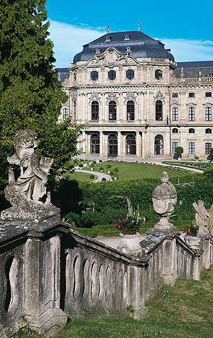 Picture: Imperial Hall pavilion of the Würzburg Residence
